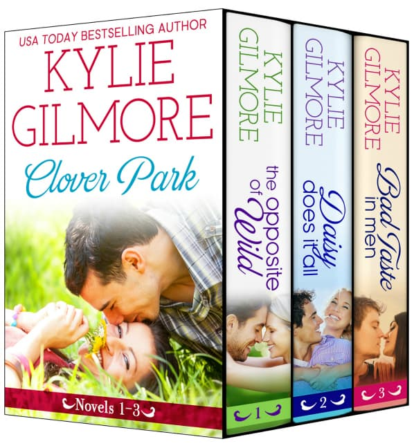 Clover Park Boxed Set 1-3 Book Cover
