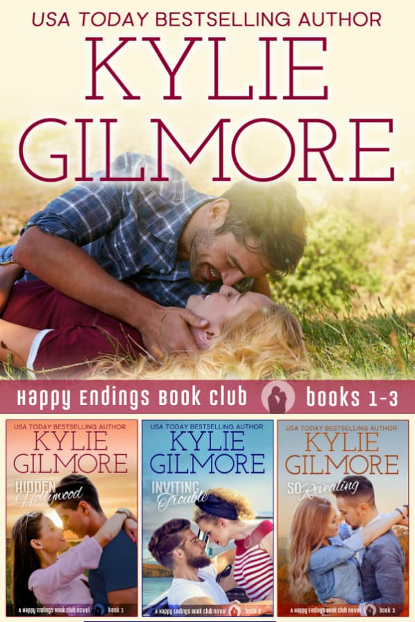 Happy Endings Book Club Boxed Set by Kylie Gilmore