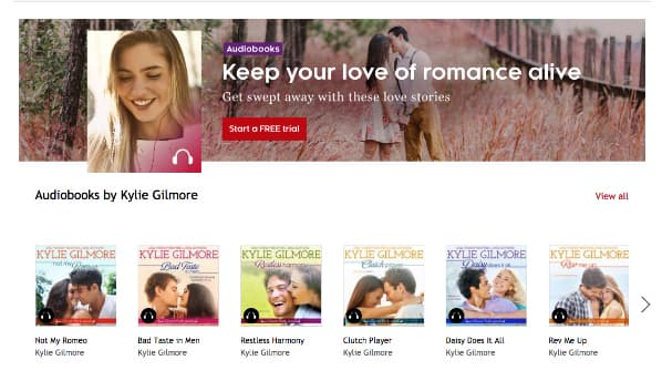 Clover Park Audiobooks by Kylie Gilmore on Kobo