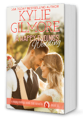 A Happy Endings Wedding Book Cover
