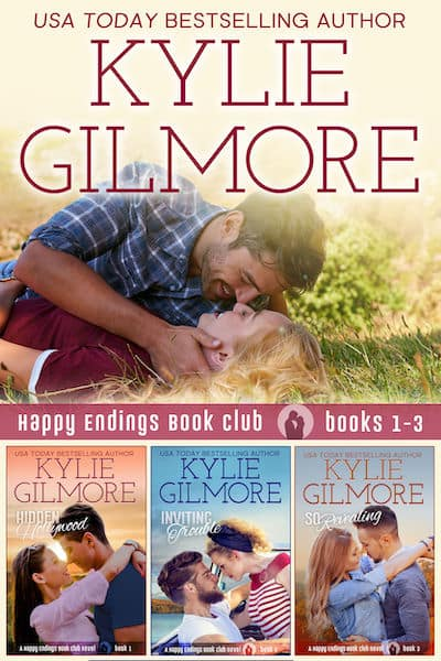 Happy Endings Book Club Boxed Set Vol 1 by Kylie Gilmore
