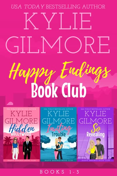 Happy Endings Book Club Boxed Set books 1-3 by Kylie Gilmore